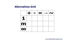 Alternatives Grid