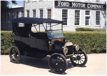 Ford Model T, single color